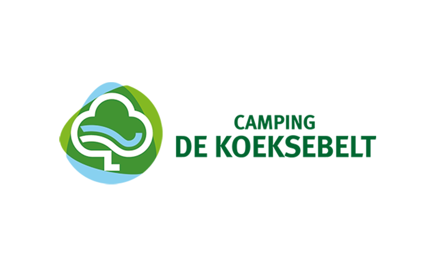 Logo Camping de Koeksebelt klant It's Marketing