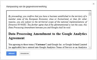 Google Analytics AVG:GDPR1